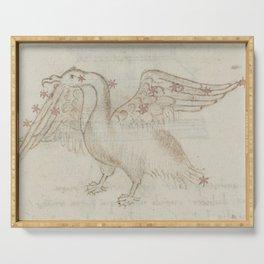 Basinio de Parma - Cygnus, the Swan (1540s) Serving Tray