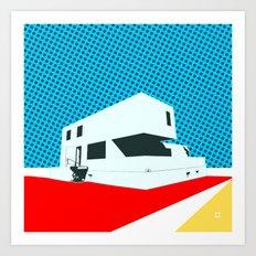 Bauhaus Meisterhaus Pop 3 Art Print