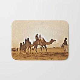 Desert Stroll Bath Mat