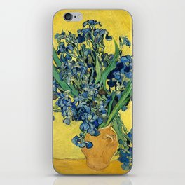 Vincent van Gogh - Irises, 1890 iPhone Skin