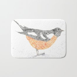 bird I Bath Mat