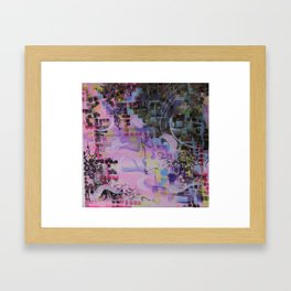 Searching for Harmony Framed Art Print
