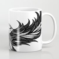 eagle Mugs featuring Eagle by Andreas Preis