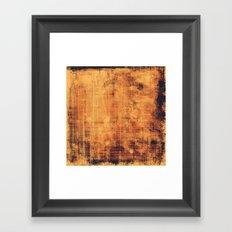 Vintage Texture Framed Art Print