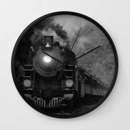 Lehigh Gorge Railroading Wall Clock