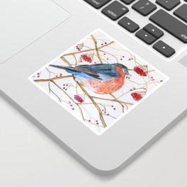 Cute Watercolor Bird Sticker