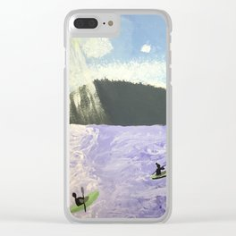Pippin Lake Clear iPhone Case