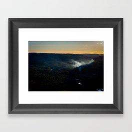 Smoky Hills Framed Art Print