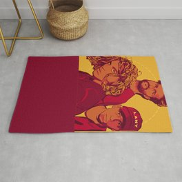 Yellow LANY Rug