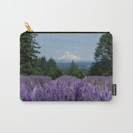Lavender Field With a View Carry-All Pouch