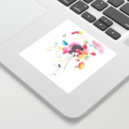 Abstract Bouquet Sticker