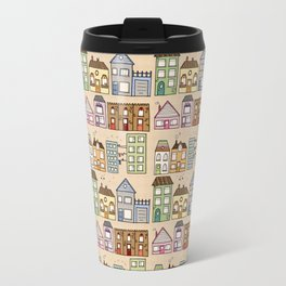 Houses Travel Mug