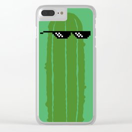 DILL WITH IT Clear iPhone Case