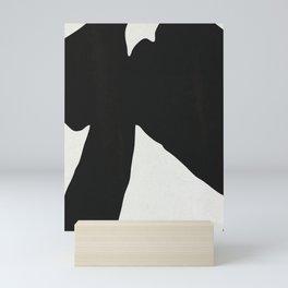 Black Coat Mini Art Print