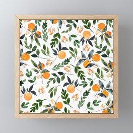 Orange Grove Framed Mini Art Print