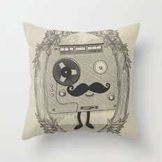 Old Time Story Throw Pillow