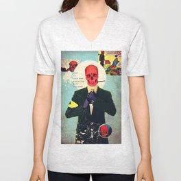 What Is This Mad Obsession With Freedom? Unisex V-Neck