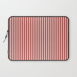 Aurora Red Stripes Laptop Sleeve