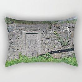 Churchyard Wall Rectangular Pillow