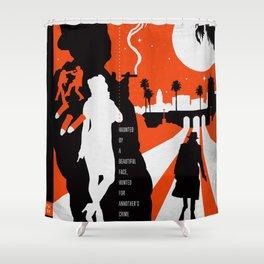 Hardboiled :: Farewell My Lovely :: Raymond Chandler Shower Curtain