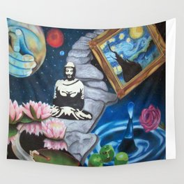 Meditate Wall Tapestry