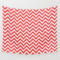 Coral Chevron by lovelylifestyle