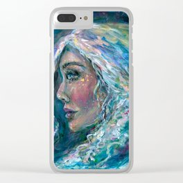 In the Moonlight Clear iPhone Case
