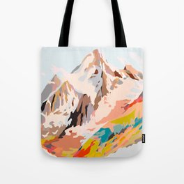 glass mountains Tote Bag