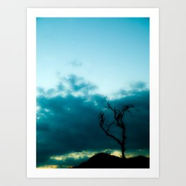 Dark Tree Art Print