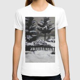 Winter, snow, nature T-shirt
