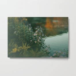 On Dreams I'm Moving Through Heavy Water Metal Print
