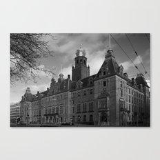 Town Hall of Rotterdam Canvas Print
