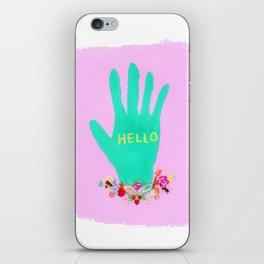 HELLO iPhone Skin