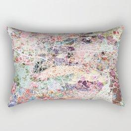Glasgow map Rectangular Pillow