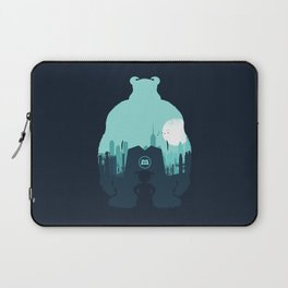 Welcome To Monsters, Inc. Laptop Sleeve