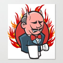 Jenkins on Fire Canvas Print