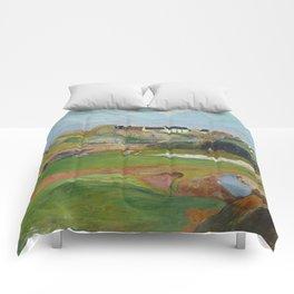 Paul Gauguin - Landscape at Le Pouldu Comforters
