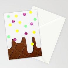 Ice-cream Papercut Stationery Cards