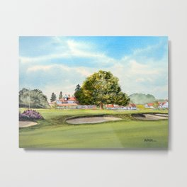 Sunningdale Golf Course 18th Green Metal Print