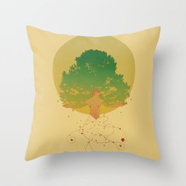 Otium Throw Pillow