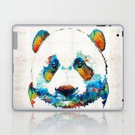 Colorful Panda Bear Art By Sharon Cummings Laptop & iPad Skin