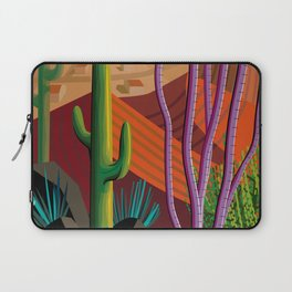 Cactus on Mountaintop Laptop Sleeve