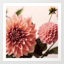 Dahlia Bouquet #1 Art Print
