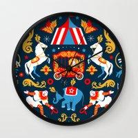 Circus royal Wall Clock