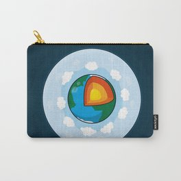 Earth Cake Carry-All Pouch