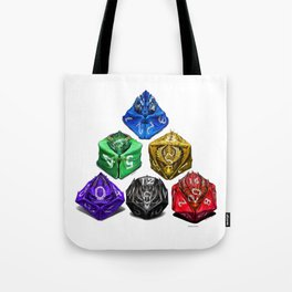 Dragon Dice poster T-Shirt Tote Bag