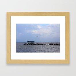 A Breeze in Bokeelia Framed Art Print