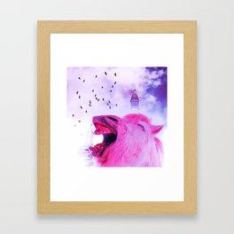 Surreal pov Framed Art Print