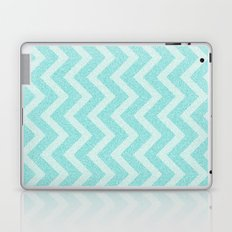 Chevron Aqua Dreams Laptop & iPad Skin