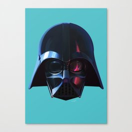 Darth Vader, the new guy at the office Canvas Print